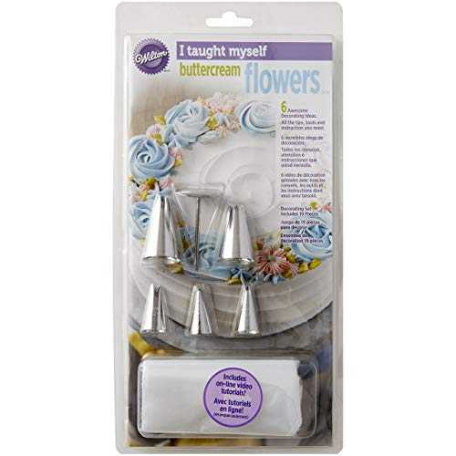 Wilton I Taught Myself Buttercream Blumen-Set, 19-teilig