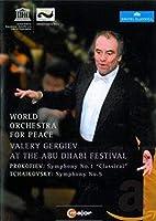 チャイコフスキー:交響曲第5番、プロコフィエフ:古典交響曲、ロッシーニ:『ウィリアム・テル』序曲 ゲルギエフ&ワールド・オーケストラ・フォー・ピース [DVD] [Import]