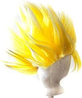 Goku - Sunshine Yellow Prestyled Spiky Wig. Longest Spike is 7'' Long
