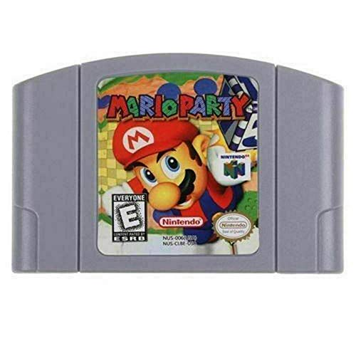 New For Nintendo 64 N64 Game Card Mario Party Video Cartridge Console