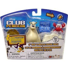 Club Penguin Figures - Series 4 - Camper & Fisherman by Club Penguin