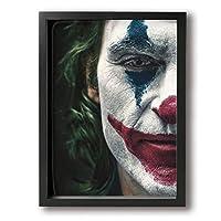 Joker ジョーカー アートパネル ポスターアートフレーム 装飾画 黒 白 壁の絵 壁掛け 絵画 キャンバスアート 壁画 壁掛け モダン 現代美術 しゃしん 壁飾り 風景画 ホームインテリア壁画 壁絵 額縁なし 30*40cm 部屋飾り 飾りポスター おしゃれ 紀念品 部屋