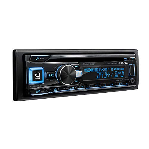Alpine - Autoradio DAB und Bluetooth Schwarz