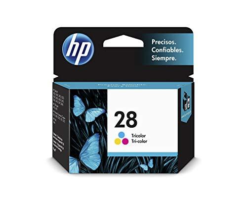 HP 28 C8728AE, Tricolor, Cartucho de Tinta Original, compatible con impresoras de inyección de tinta HP DeskJet 3420, 3550, 3650, OfficeJet serie 4200, PSC series 1200, 1300, 4200