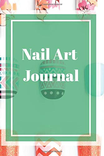 Nail Art Journal: Nail Art Notebook, Diary, Gift, 160 pages, Grid Dot Pages, 6 x 9.