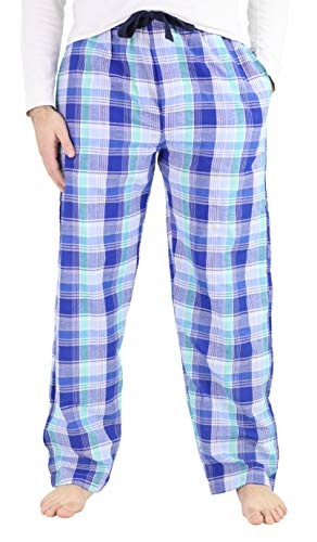 IZOD Men's Soft Touch Woven Pajama Sleep Pants, XX-Large, Dark Blue
