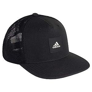 アディダス トラッカーメッシュ キャップ スナップバック スポーツ 帽子 FK0851 ブラック [並行輸入品]