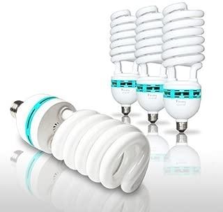 LimoStudio 4PCS Photography Studio 65 Watt Fluorescent Photo Light Bulb Daylight, AGG872