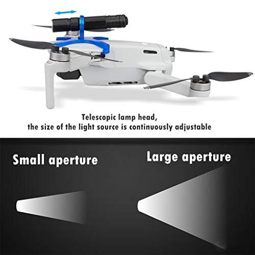 CUEYU LED-Licht für DJI Mavic Mini Drone,Nachtflug LED-Licht Taschenlampe Suchscheinwerfer für DJI Mavic Mini Drone (B)