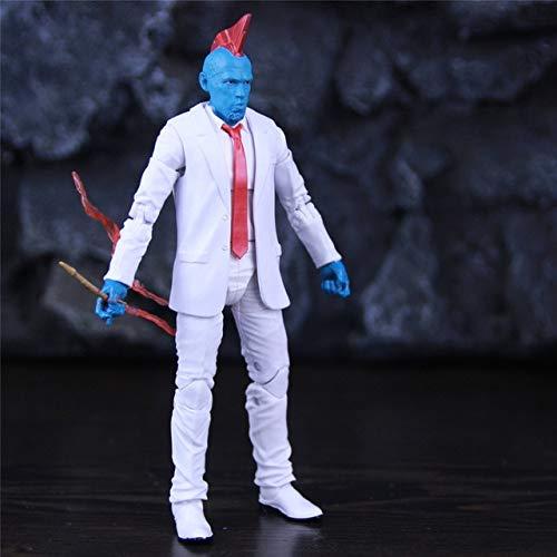Jwyq Custom ML Legends Yondu Udonta White Suit 6'Figura de accin Galaxy Guardians Interstellar Hunter Toys Doll ModeloB