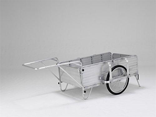 【メーカー直送】アルインコ アルミ製折りたたみ式リヤカー HKW180L-1025 【7597100】