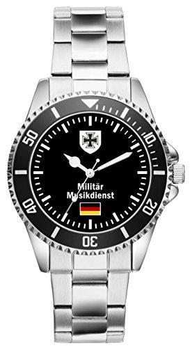 KIESENBERG Uhr - Soldat Geschenk Bundeswehr Artikel Militär Musikdienst 1072