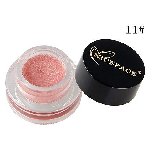 15 couleurs Purée de pommes de terre fards à paupières Mettre en évidence maquillage crème correcteur shimmer visage glow surligneur fard à paupières crème