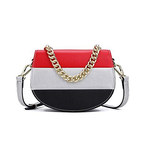 Mode handtaschen, nähte satteltasche, wilde umhängetasche, umhängetasche, handtasche,-Silver