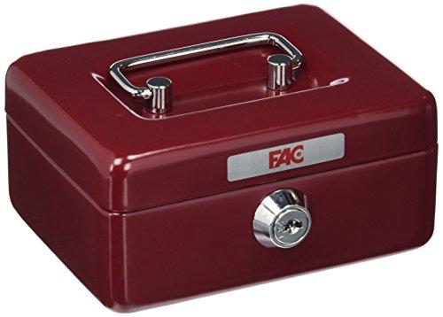 FAC 17001 Caja de caudales, Rojo