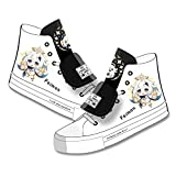 CEATLYRING Zapatillas De Lona Genshin Impact Paimon,Deporte Zapatos Anime Unisex Cosplay Impreso Casual Cómodo Moda Shoes China 34-45