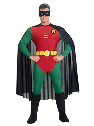 Rubies - Disfraz Oficial de Batman Robin Classic para Adulto, tamaño Mediano