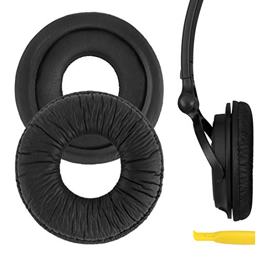 GEEKRIA MDR-V150 V200 V250 V300 V400 ZX300 Headphone Replacement Ear Pad / Ear Cushion / Ear Cups / Ear Cover / Earpads Repair Parts with Repair Tool