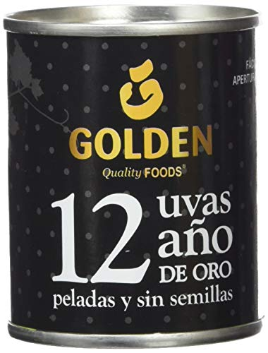 Uvas de la Suerte Golden - 12 unidades, 120 g
