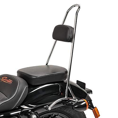 Sissy Bar Tall für Harley Sportster 1200 Custom 04-20 Chrom