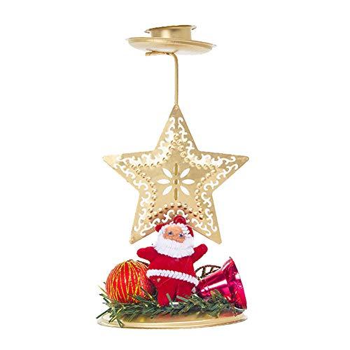 TankMR lantaarn theelichthouder Tea Light officiële kaars Retro Art Candle Houten lantaarn voor huis party buiten Kerstmis Halloween Ster