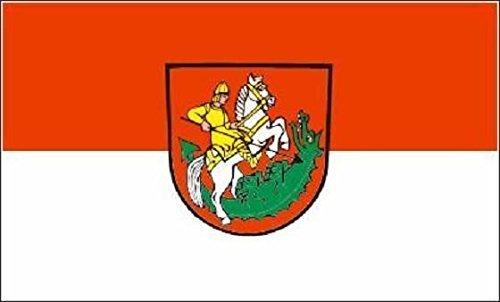 U24 Aufkleber St. Georgen im Schwarzwald Flagge Fahne 8 x 5 cm Autoaufkleber Sticker