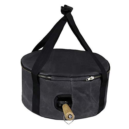 Nicoone Bolsa de comida personal para camping, con asa y agujero para...