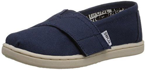 Tiny Toms Classics Navy Blue Baby Shoes