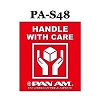 パンナム ステッカー PA-S48