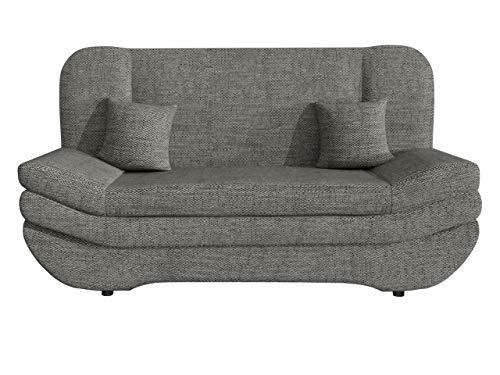 Mirjan24 Sofa Weronika mit Bettkasten und Schlaffunktion, Schlafsofa, Große Farb- und Materialauswahl, Couch vom Hersteller, Wohnlandschaft (Lawa 05.)