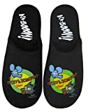 The Simpsons Itchy and Scratchy Show Men s Black L