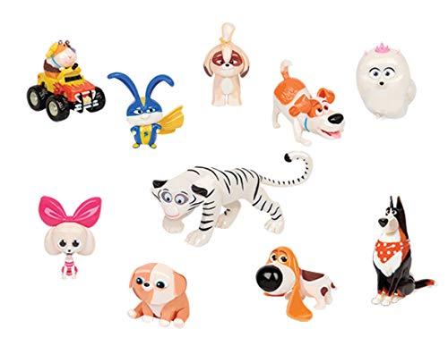 JP Secret Life of Pets 2 ECE07000 - Juego de 10 Figuras, diseño de Vida Secreta de Mascotas