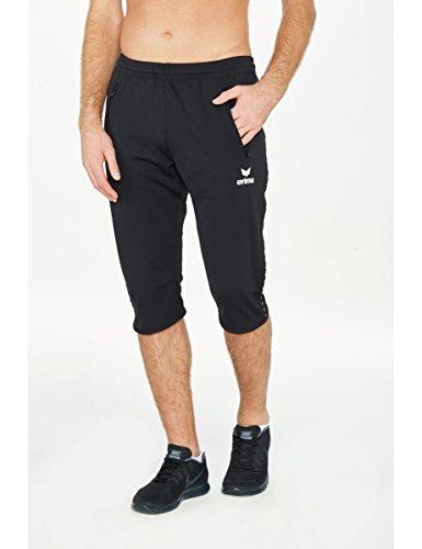 Erima - Running-3/4-Hosen für Jungen in Schwarz, Größe 128