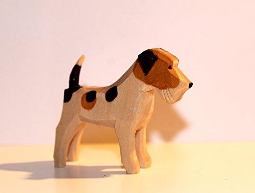 Lotte Sievers-Hahn Krippenfiguren * Terrier im Baumwollbeutel * 1561