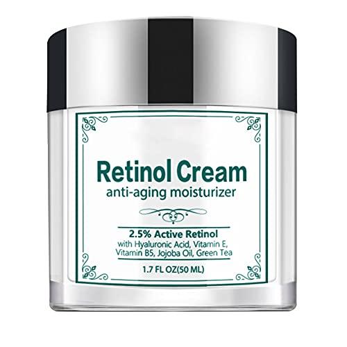 Retinol Face Cream Anti Envejecimiento Crema para Reducir Las Arrugas Colágeno Blanqueamiento Skin Fiebre Hidratante Removedor De Arrugas Crema 50ml