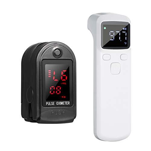 Anself Schnell ablesbares Finger Fingerspitzen Messgerät Messgerät und Körpertemperaturwerkzeug Temperaturmessung