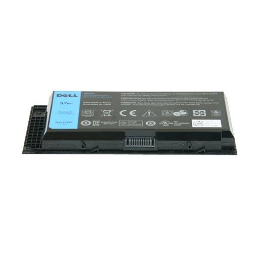 DELL 9GP08 Lithium-ION (Li-ION) Batterie Rechargeable - Batteries Rechargeables (97 Wh, Lithium-ION (Li-ION), Noir)