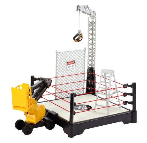 WWE MATTEL FXG08 WWE Sound Slammers Destruction Zone Playset, Multi-Colour