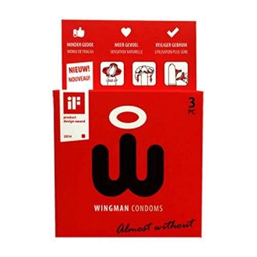Kondome leicht tragen Wingman 3 Pezzi
