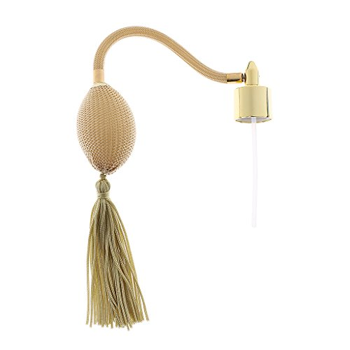 dailymall Decorative Perfume Bottle Atomizer Bulb & Tube Replacement for Friends Gift - Beige