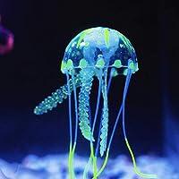 pulabo 実用的である 装飾的なサンゴの浮遊蛍光人工クラゲを美化する水族館