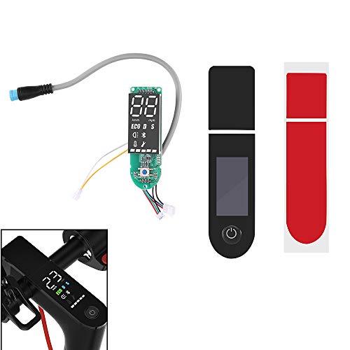 Houkiper Tablero de Instrumentos de Repuesto para Scooter eléctrico, repuestos de la Cubierta de la Pantalla del Panel de Instrumentos de Bluetooth, Compatible con Xiaomi M365
