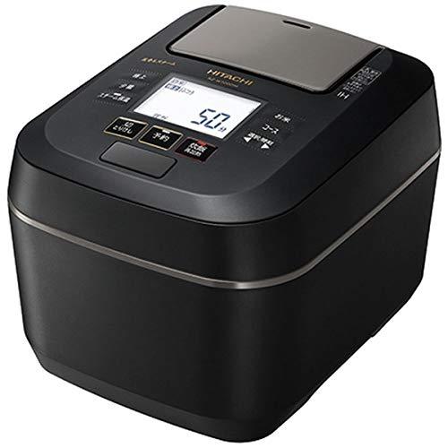 日立 圧力&スチームIH炊飯ジャー(5.5合炊き) ふっくら御膳 フロストブラック RZ-W100DM-K