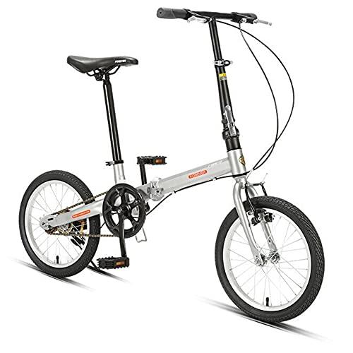 ROYWY Bicicleta Plegable para Adultos, Bicicleta para Joven, Mujer Mountain Bike, Bicicleta de montaña prémium para niños, niñas, Hombres y Mujeres -B/B