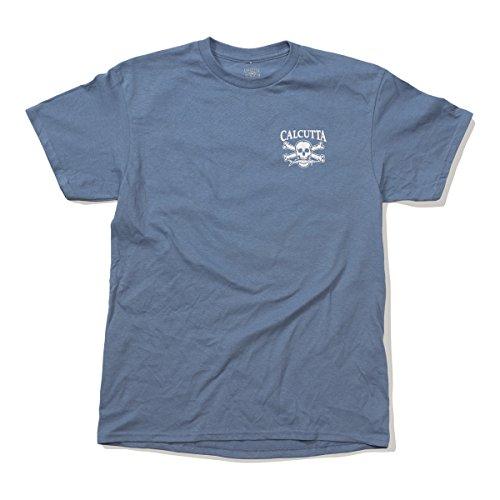 Kalkutta Vintage Shirt, Vintage T-Shirt Slate, No Pocket, blau, X-Large