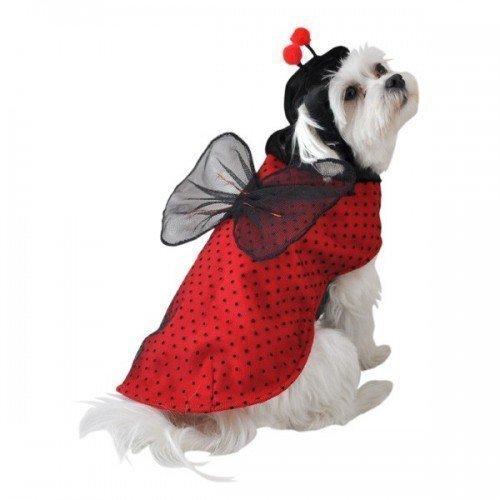 Fancy Me - Costume da Coccinella per Cane, Gatto, per Halloween