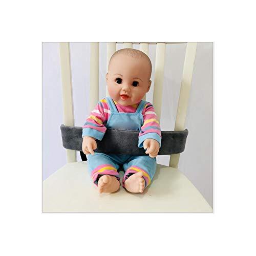 Homiki Alimentazione del Bambino Sedia Cinghia del Bambino Portatile Alimentazione della Sedia della sede Cintura di Sicurezza del Bambino Cintura Grey