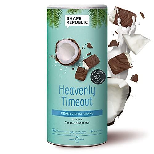 Shape Republic Slim Shake Coconut-Chocolate (420g)   Gewichtsmanagement Shake für Frauen   proteinreiches Diät Pulver zum Abnehmen   vollwertiger Mahlzeitenersatz mit 23 wertvollen Vitaminen