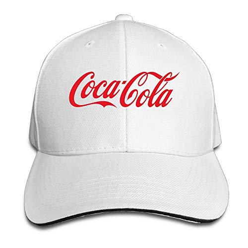 Unisex Coca Cola Logo Adjustable Snapback Baseball Caps...