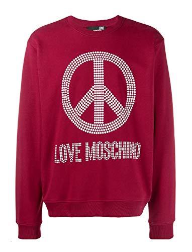 Moschino m647037m3875 Sweater Herren rote M
